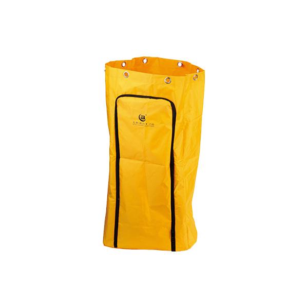Yellow Janitor Cart's Bag